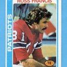 1978 Topps Football #095 Russ Francis - New England Patriots