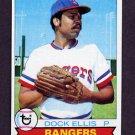 1979 Topps Baseball #691 Dock Ellis - Texas Rangers