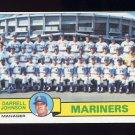 1979 Topps Baseball #659 Seattle Mariners Team Checklist / Darrell Johnson MG