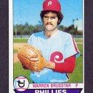 1979 Topps Baseball #653 Warren Brusstar - Philadelphia Phillies