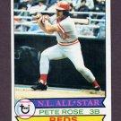1979 Topps Baseball #650 Pete Rose - Cincinnati Reds