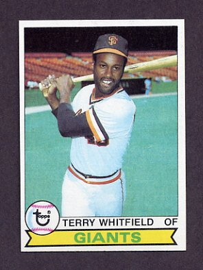 1979 Topps Baseball #589 Terry Whitfield - San Francisco Giants NM-M