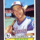 1979 Topps Baseball #572 Rod Galbreath - Atlanta Braves