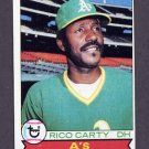 1979 Topps Baseball #565 Rico Carty - Oakland A's