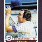 1979 Topps Baseball #505 Ed Kranepool - New York Mets