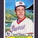 1979 Topps Baseball #496 Barry Bonnell - Atlanta Braves NM-M