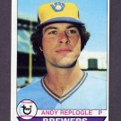 1979 Topps Baseball #427 Andy Replogle RC - Milwaukee Brewers