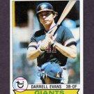 1979 Topps Baseball #410 Darrell Evans - San Francisco Giants