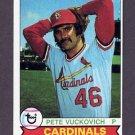 1979 Topps Baseball #407 Pete Vuckovich - St. Louis Cardinals