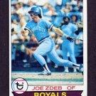 1979 Topps Baseball #389 Joe Zdeb - Kansas City Royals