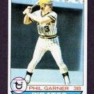 1979 Topps Baseball #383 Phil Garner - Pittsburgh Pirates