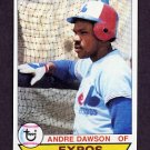 1979 Topps Baseball #348 Andre Dawson - Montreal Expos