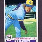 1979 Topps Baseball #303 Lary Sorensen - Milwaukee Brewers
