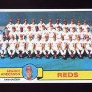 1979 Topps Baseball #259 Cincinnati Reds Team Checklist / Sparky Anderson MG NM-M