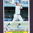 1979 Topps Baseball #245 Jeff Burroughs - Atlanta Braves NM-M