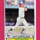 1979 Topps Baseball #245 Jeff Burroughs - Atlanta Braves ExMt