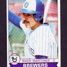 1979 Topps Baseball #243 Buck Martinez - Milwaukee Brewers