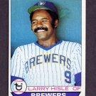 1979 Topps Baseball #180 Larry Hisle - Milwaukee Brewers