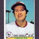 1979 Topps Baseball #091 Terry Crowley - Baltimore Orioles