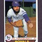 1979 Topps Baseball #045 Al Hrabosky - Kansas City Royals
