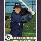 1979 Topps Baseball #042 Ron Blomberg - Chicago White Sox
