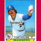 1979 Topps Baseball #031 Tom House - Seattle Mariners ExMt