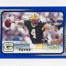 2001 Score Football #079 Brett Favre - Green Bay Packers