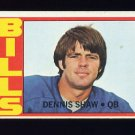 1972 Topps Football #238 Dennis Shaw - Buffalo Bills