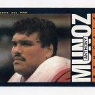 1985 Topps Football #219 Anthony Munoz - Cincinnati Bengals
