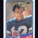 1988 Topps Football #221 Jim Kelly - Buffalo Bills