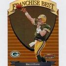 1999 Bowman's Best Football Franchise Best #FB5 Brett Favre - Green Bay Packers