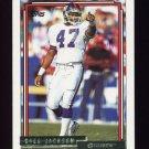 1992 Topps Gold Football #291 Greg Jackson - New York Giants