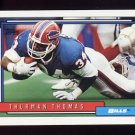 1992 Topps Football #320 Thurman Thomas - Buffalo Bills