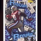 1993 Topps Football #002 Jerry Rice RB - San Francisco 49ers