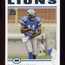 2004 Topps Football #320 Roy Williams RC - Detroit Lions