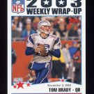 2004 Topps Football #299 Tom Brady - New England Patriots