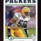 2004 Topps Football #216 Nick Barnett - Green Bay Packers