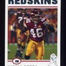 2004 Topps Football #052 Ladell Betts - Washington Redskins