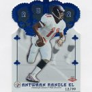 2002 Crown Royale Blue #201 Antwaan Randle El RC - Pittsburgh Steelers 12/99
