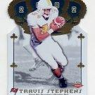 2002 Crown Royale Football #211 Travis Stephens RC - Tampa Bay Buccaneers