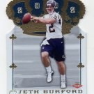 2002 Crown Royale Football #205 Seth Burford RC - San Diego Chargers