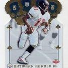 2002 Crown Royale Football #201 Antwaan Randle El RC - Pittsburgh Steelers