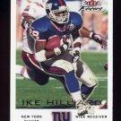 2000 Fleer Focus Football #162 Ike Hilliard - New York Giants