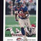 2000 Fleer Focus Football #161 Terrell Davis - Denver Broncos