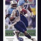 2000 Fleer Focus Football #150 Steve McNair - Tennessee Titans