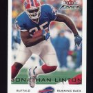 2000 Fleer Focus Football #113 Jonathan Linton - Buffalo Bills