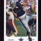 2000 Fleer Focus Football #095 David LaFleur - Dallas Cowboys