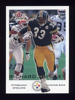 2000 Fleer Focus Football #087 Richard Huntley - Pittsburgh Steelers
