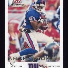 2000 Fleer Focus Football #071 Amani Toomer - New York Giants