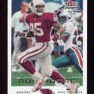 2000 Fleer Focus Football #066 Rob Moore - Arizona Cardinals